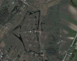 Fort VII - widok z satelity - Wikimapia